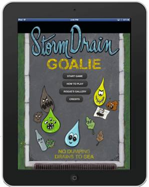 Graphic - Multimedia - StormDrain Goalie