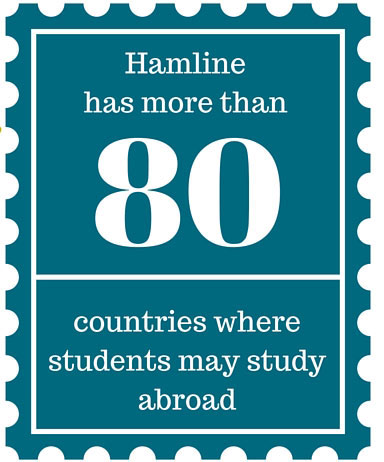 hamline has more than 80 countries where students may study abroad