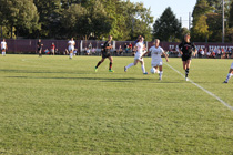 Womens Soccer action shot
