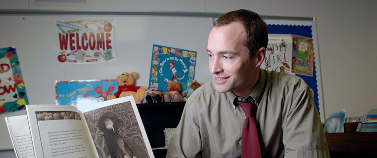 MAED Alumni Matt Berg with Children's Book