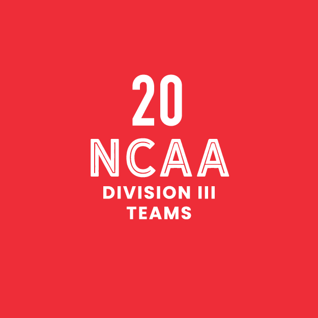20 NCAA Division 3 teams in MIAC